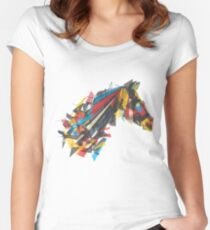 beygir (horse) Women's Fitted Scoop T-Shirt