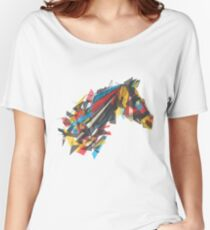beygir (horse) Women's Relaxed Fit T-Shirt