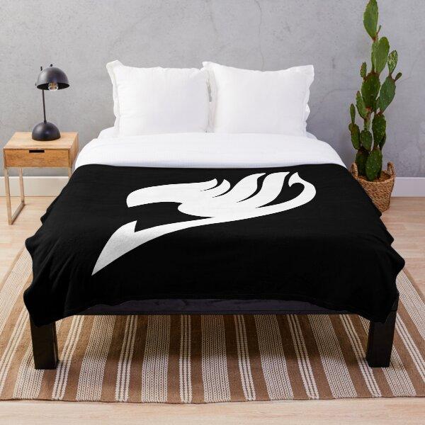 Fairy Tail Logo (White) Throw Blanket