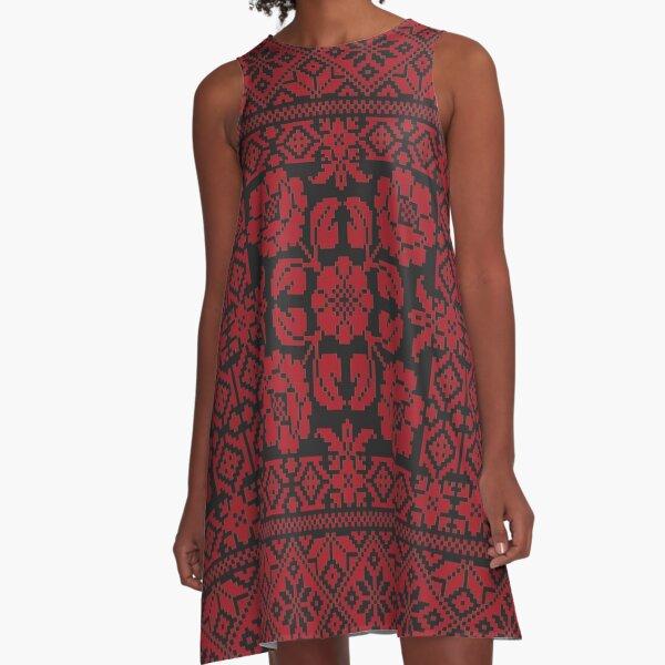 Tatreez A-Line Dress