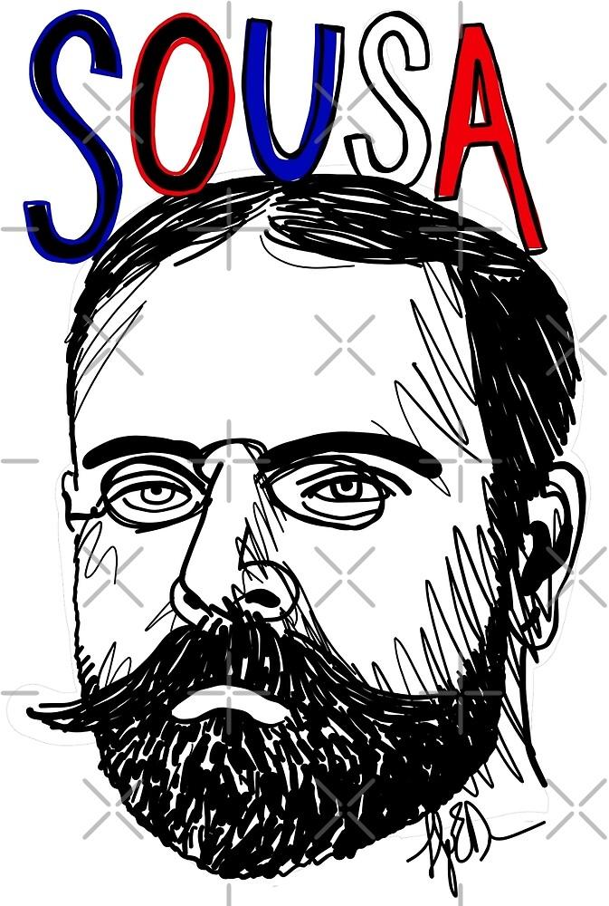 John Philip Sousa by fortissimotees