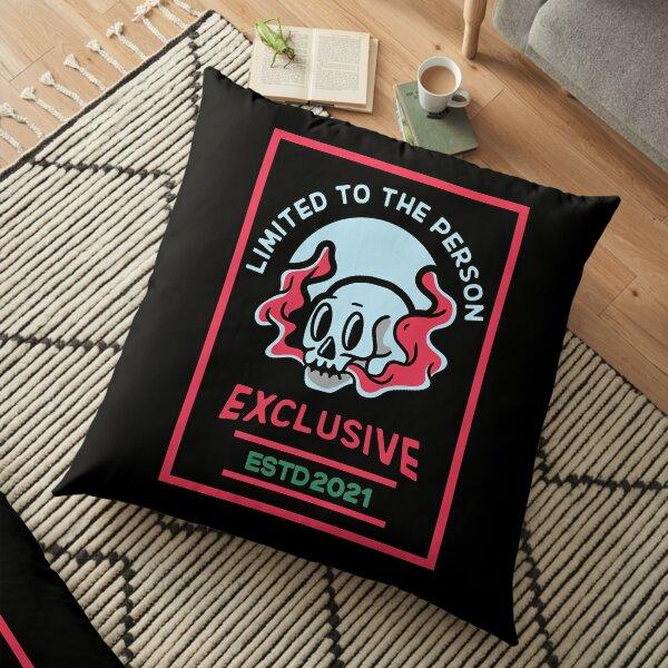 Exclusive Skull Floor Pillow