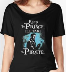 Killian Jones Is My Prince! Captain Hook OUAT. Women's Relaxed Fit T-Shirt
