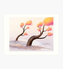 old before have trees Art Print