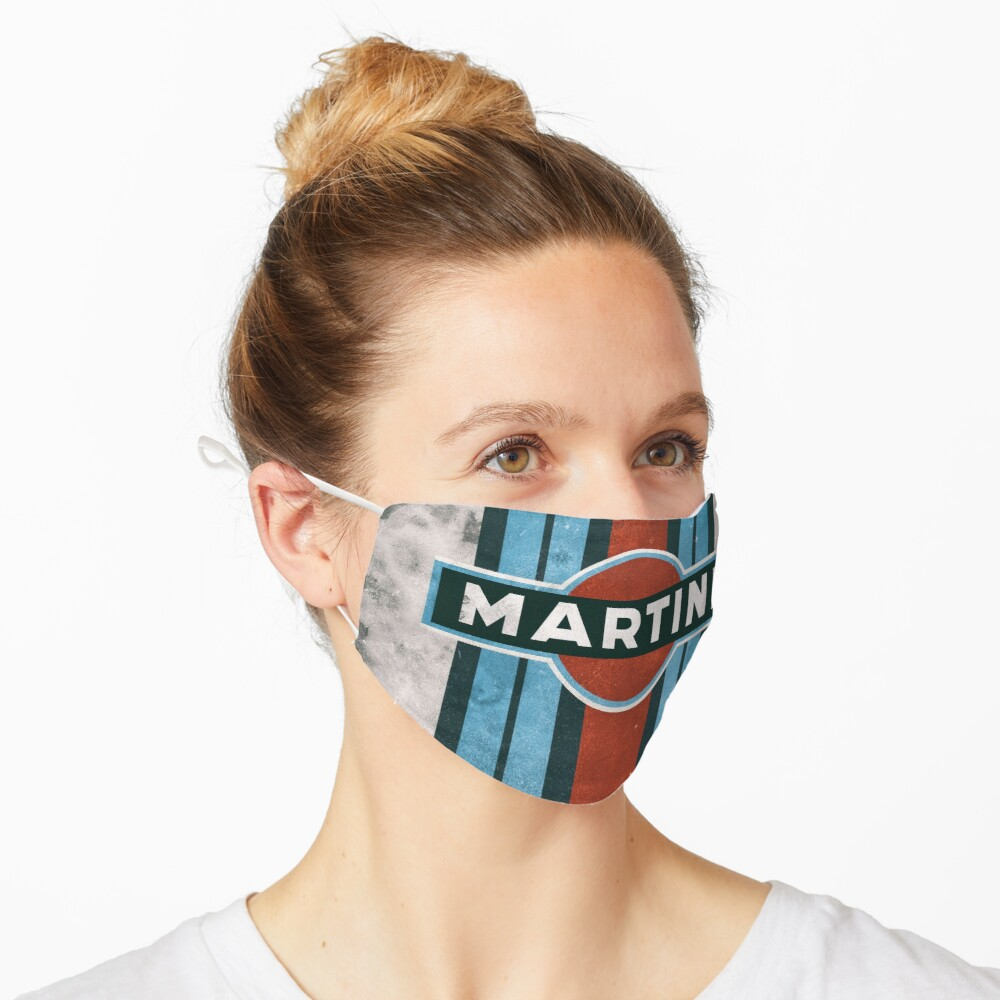 Masque «Affiche MARTINI RACING»
