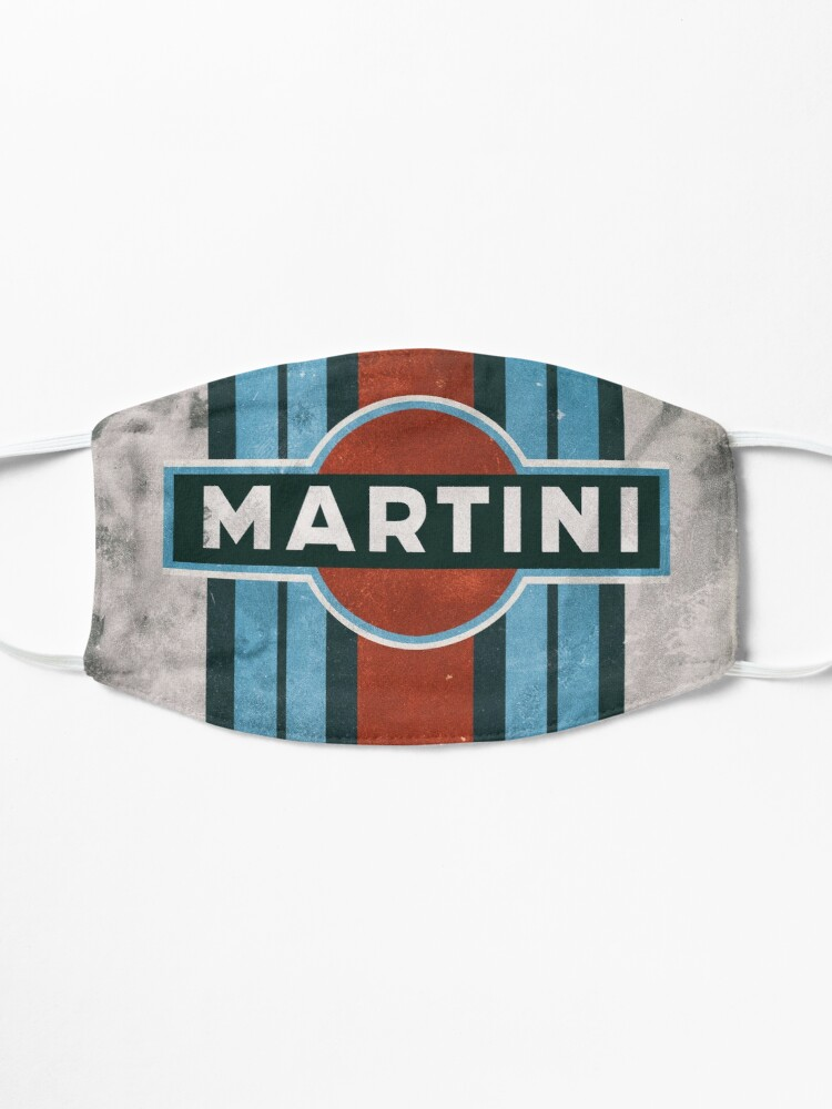Masque ''Affiche MARTINI RACING': autre vue