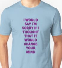 Boys Don't Cry Unisex T-Shirt