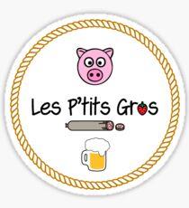 Les P'tits Gros Colo Sticker