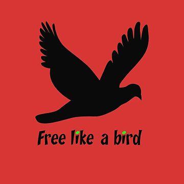 Free like a bird by dutchstranger