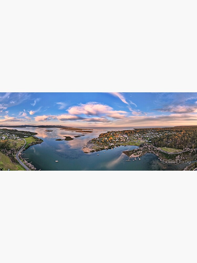 Coulls Inlet Mallacoota Lake 180 Panorama April 2021 by colindixon