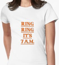 Ring, Ring... Women's Fitted T-Shirt
