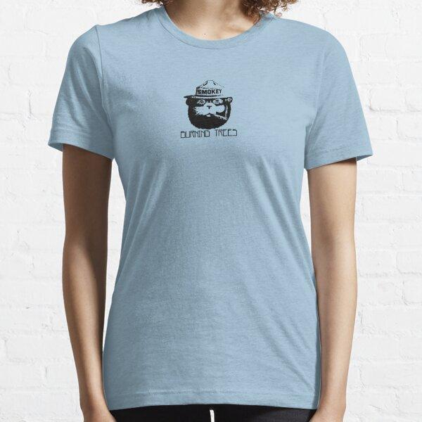 Burning Trees Essential T-Shirt