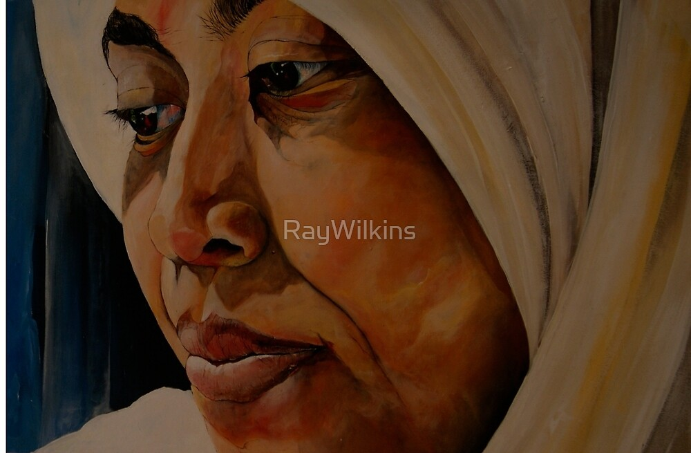 Lady and the veil by RayWilkins