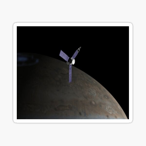 Juno Spacecraft Sticker