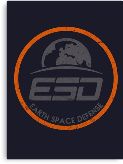 ESD - EARTH SPACE DEFENSE (2) by Robiberg