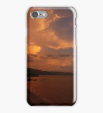 sunset's afterglow II - fosforescencia de atardecer iPhone Case/Skin