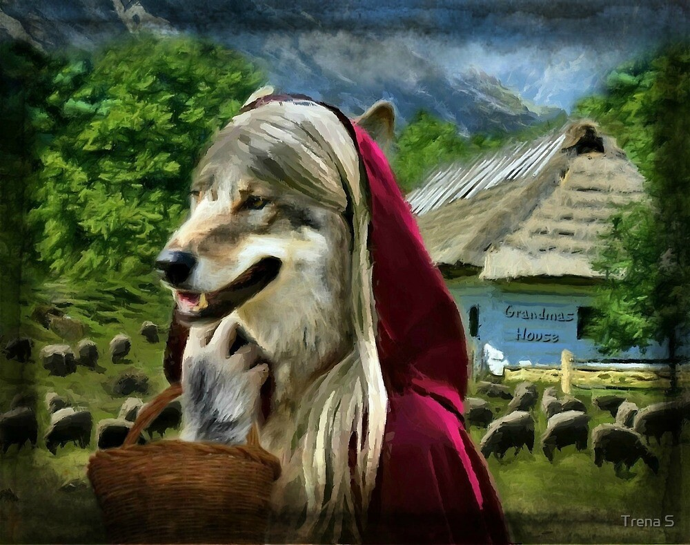 Red Riding Wolfs Arrival (For Challenge) by Trena S