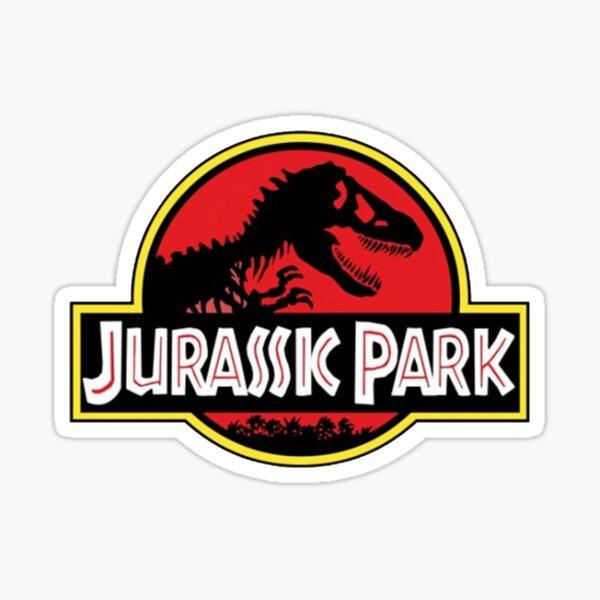Parque Jurásico Pegatina