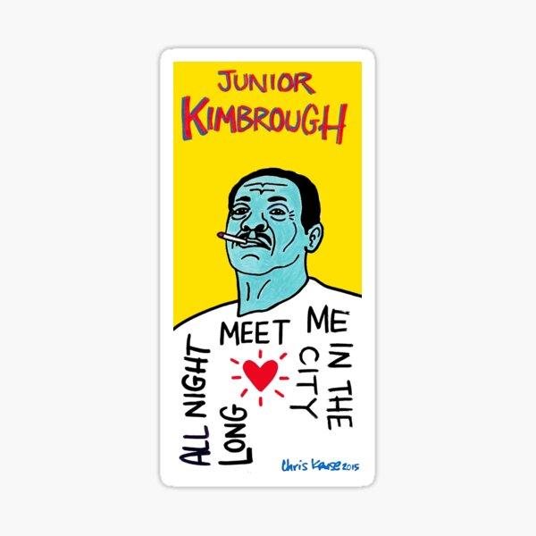 Junior Kimbrough Blues Folk Art Sticker