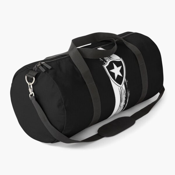 All for this colours, my heart is Botafogo, Brazil Duffle Bag