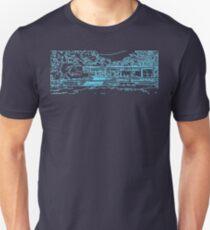 Farnsworth house mid century modern T-Shirt