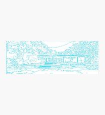 Farnsworth house mid century modern Photographic Print