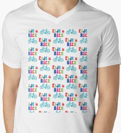 Ride a Bike Sketchy white  T-Shirt