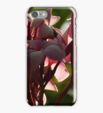 flower against the sunlight - flor en contra de la luz del sol iPhone Case/Skin