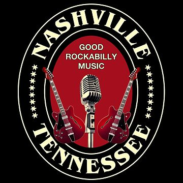 Vintage Rockabilly Nashville by Dardman
