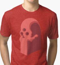 Edgar's Skull Totem  Tri-blend T-Shirt