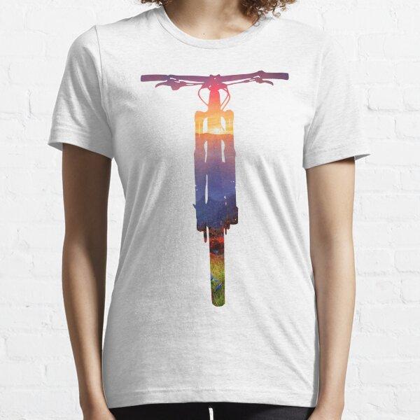 Mountainbike-Sonnenuntergang - MTB-Sammlung # 002 Essential T-Shirt