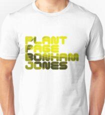 Plant Page Bonham Jones Unisex T-Shirt