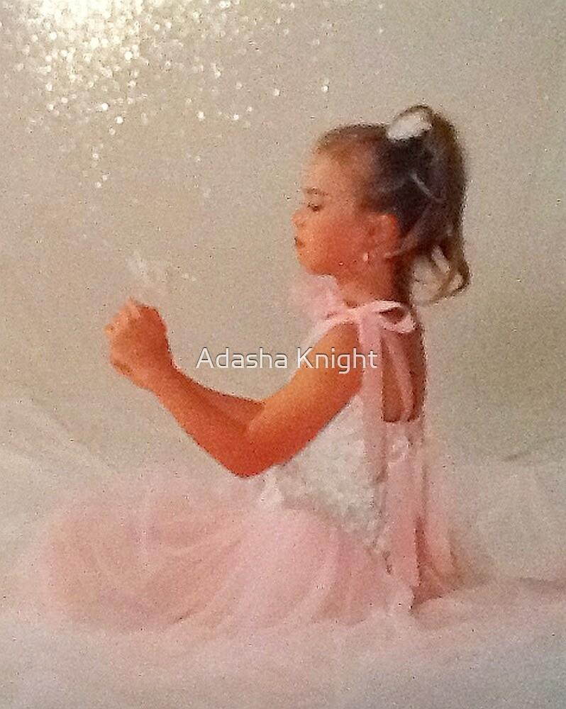 Dancing Pink Princess by Adasha Knight