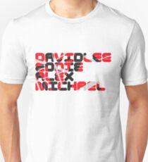 David Lee Eddie Alex Michael T-Shirt