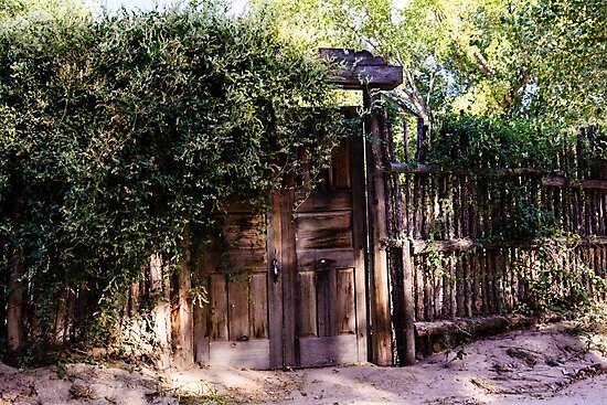 Wooden Gate New Mexico by bengraham