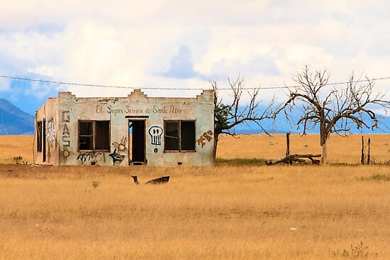 Old Gas Station New Mexico by bengraham