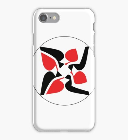 Spilt Spades iPhone Case/Skin