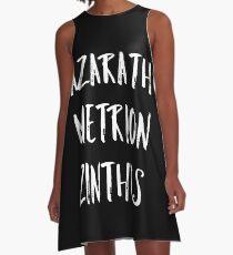 Azarath Metrion Zinthos A-Linien Kleid