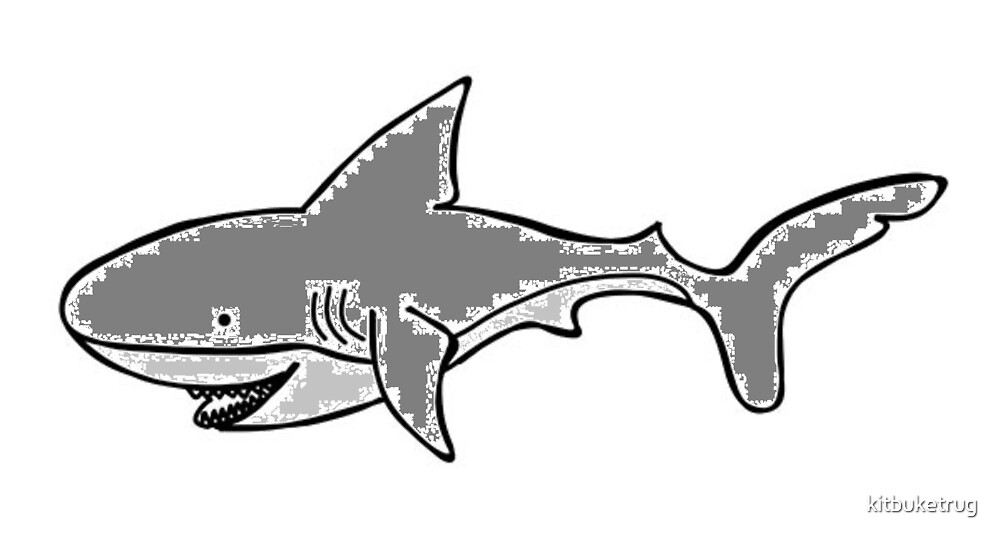 Shark by kitbuketrug