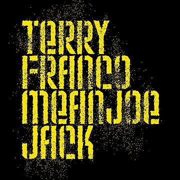 Terry Franco Mean Joe Jack / Black by walker12to88
