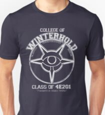 Winterhold College Absolvent Slim Fit T-Shirt