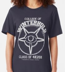 Winterhold College Graduate Slim Fit T-Shirt