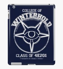 Winterhold College Graduate iPad Case/Skin