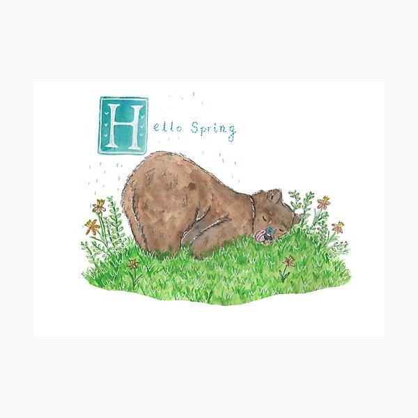 Pivoine Happy lièvres Vert Basil lapin écharpe Cadeau Maman Sœur ami cadeau Pâques