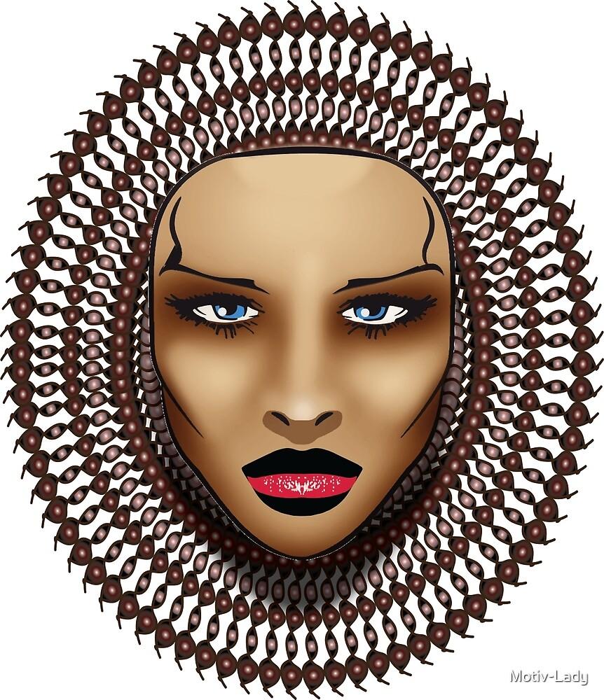 Woman Face by Motiv-Lady