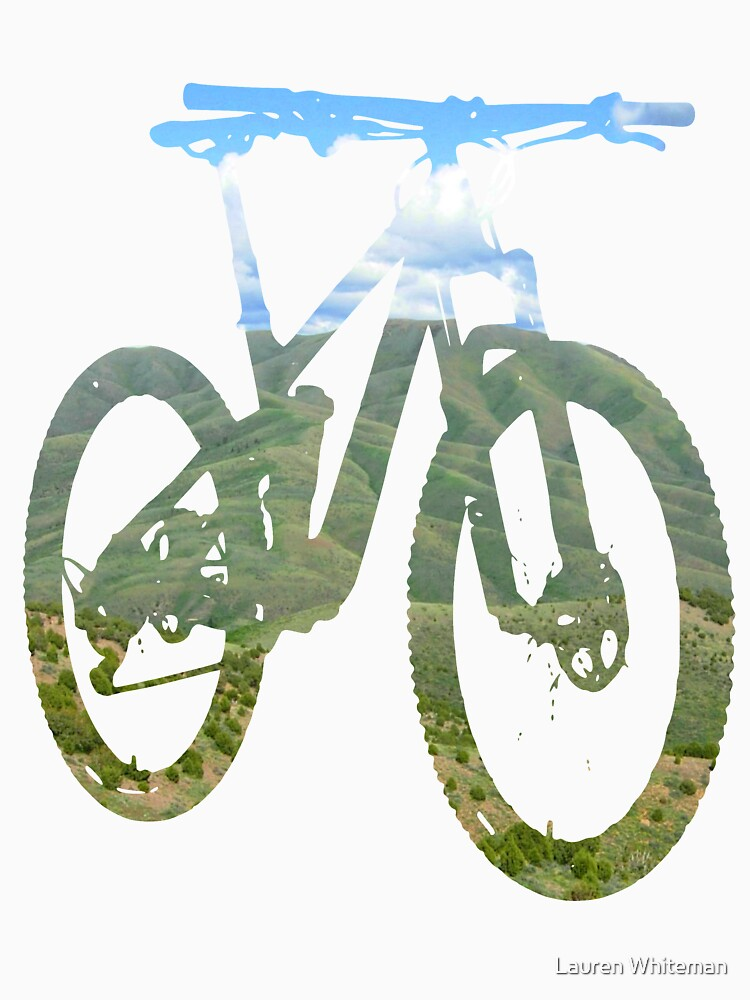 Mountain Bike Mountain and Sky - MTB Collection #003 by klieneine