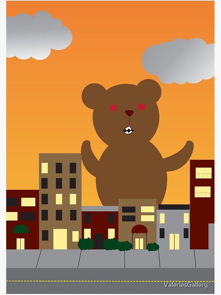 Monster Bear by ValeriesGallery