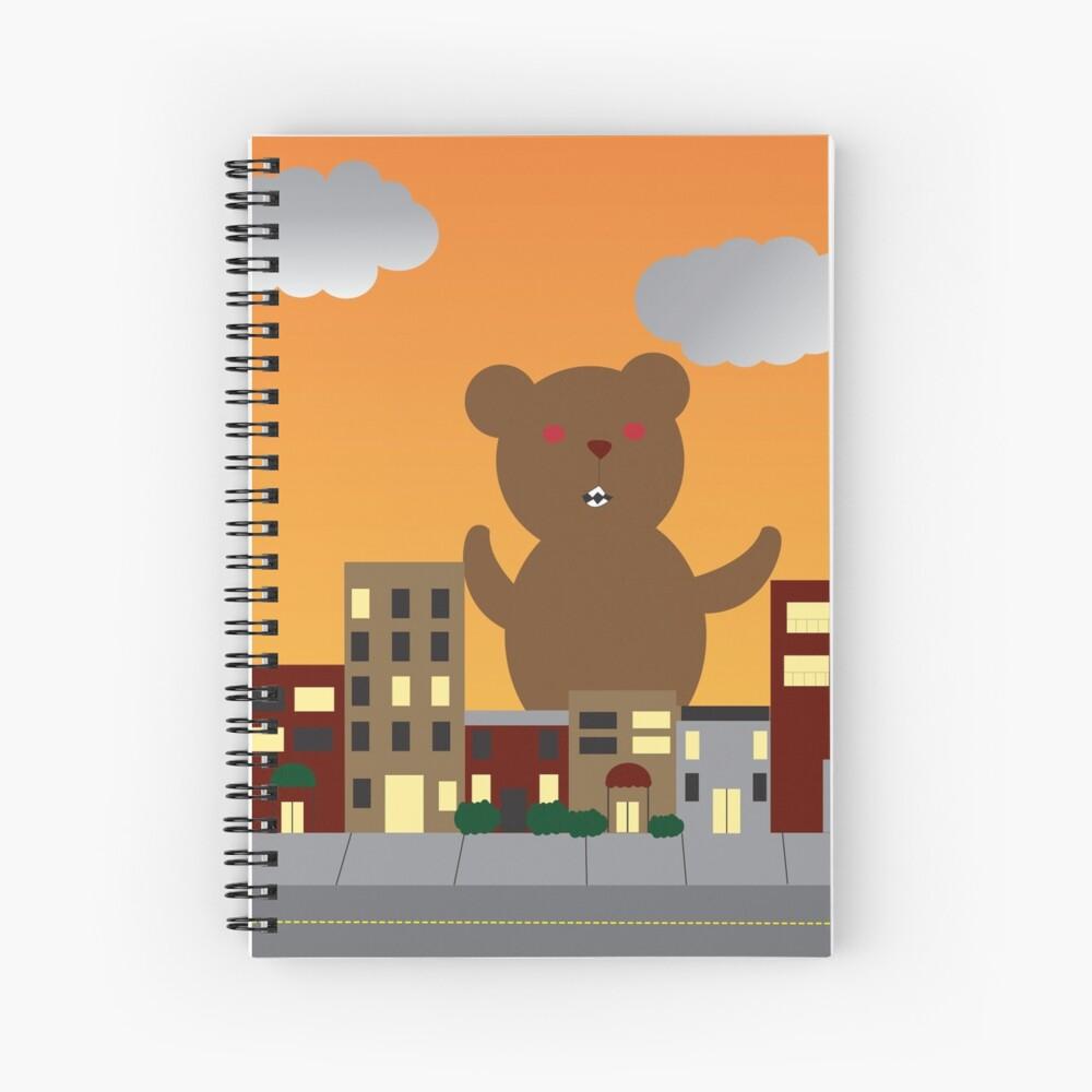 Monster Bear Spiral Notebook