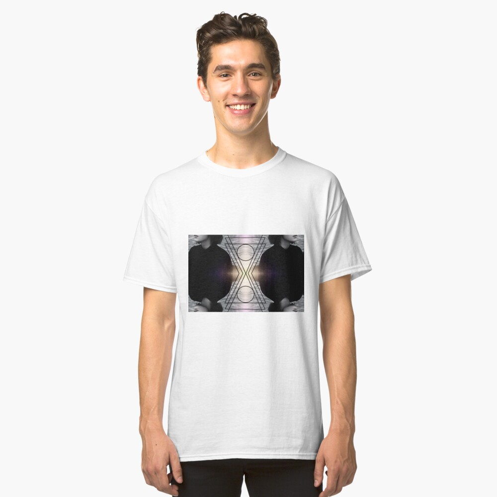 All In Waiting  Classic T-Shirt Front