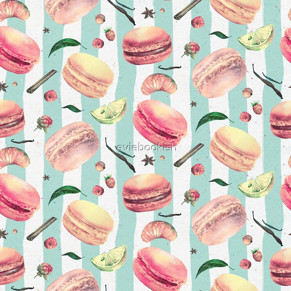 Sweet Tooth pattern by eviebookish